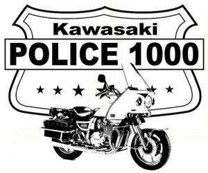 Kawasaki Kz1000 Police история легендарной модели Sculpt Moto